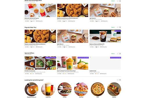 Hundres of Restaurant Food