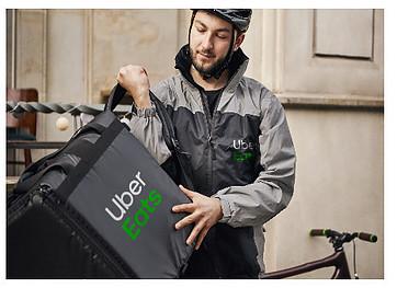 Uber Eats Cyclists