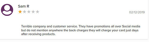 BBB customer complaints
