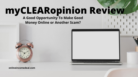 myCLEARopinion Review