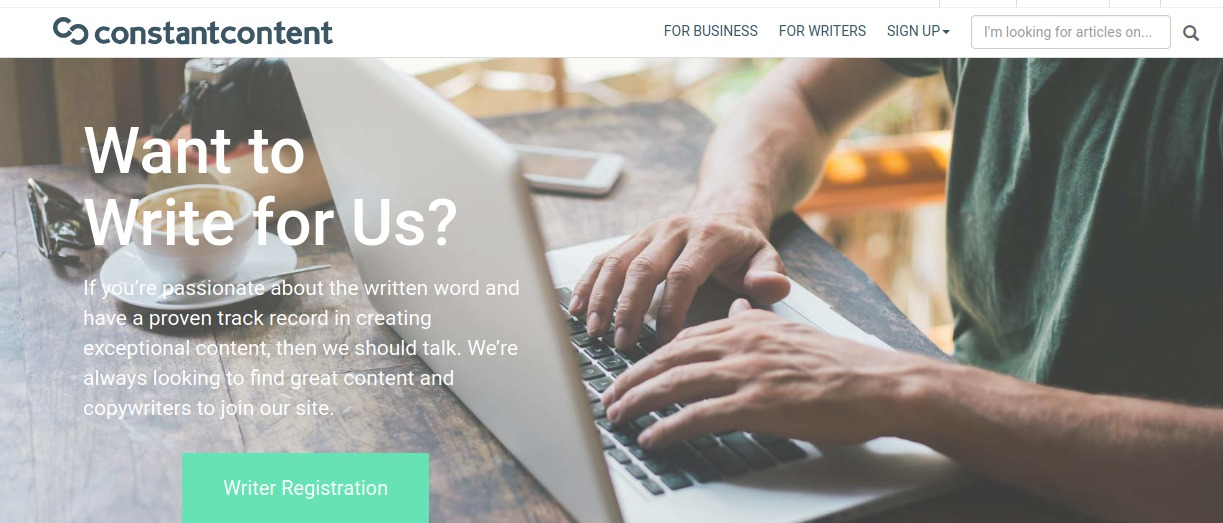 Constant-Content writer jobs